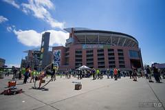 Ultra-Wide on CenturyLink Field (Taomeister) Tags: seattle football stadium soccer voigtlandersuperwideheliar15mmf45 seattlesoundersfc centurylinkfield sonya7ii voigtlandersuperwideheliar1545iiiasph