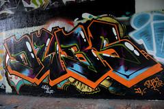 graffiti amsterdam (wojofoto) Tags: holland amsterdam graffiti nederland netherland dubs flevopark amsterdamsebrug wolfgangjosten wojofoto