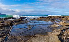 Patterns (Ralph Green) Tags: ocean sea clouds rocks surf waves patterns australia victoria greatoceanroad kennettriver