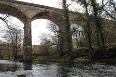 Nine Arches, Derwent Park, Northumberland (Hairy Caterpillar) Tags: bridge stone river nine arches northumberland derwentwalk derwentpark