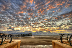 Blackpool Sky.. (Jason Connolly) Tags: sunset england blackpool hdr highdynamicrange seasideresort blackpoolbeach photomatix photomatixpro lancahsire nikonflickraward