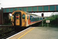 South West Trains Class 411 (4-CEP) no. 1581, Wareham (michaelday_bath) Tags: southwesttrains wareham 4cep brclass411