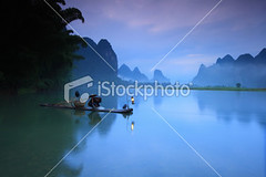 Fishermen-fishing (MPBHAIBO) Tags: china morning mountain reflection sunrise river landscape dawn liriver fishing fisherman dusk guilin yangshuo hill bamboo cormorant     chineseculture    bamboogrove xingping mountainpeak fishingindustry asianculture    karstformation nauticalvessel chineseethnicity woodenraft  asianstyleconicalhat guangxiregion