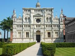 308 Pavia, Certosa di Pavia (josaugust) Tags: italy church monastery mausoleum pavia charterhouse visconti lategothic certosadipavia