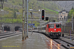 Gotthard Monsoon (Lickey Banker) Tags: switzerland luzern sbb locarno cff re44 baselsbb 11181 gschenen gotthardbahn
