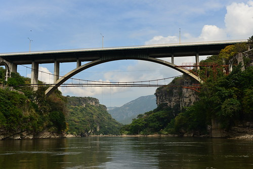 Bridge over Grijalva River