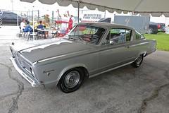 1966 Barracuda Formula S (Bill Jacomet) Tags: auto show park industry car race silver construction texas sam plymouth houston s 1966 66 formula mopar barracuda 2013