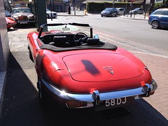 Jaguar E type V12 with manual gearbox (mangopulp2008) Tags: with e type jaguar manual gearbox v12