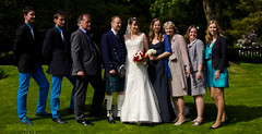 0032Family_004 (PauSmithPhotography) Tags: uk greatbritain wedding zoo scotland edinburgh marriage brideandgroom scottishwedding happyday manorhousezoo