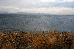 Serenity (Gregor  Samsa) Tags: light sunset lake water evening twilight afternoon dusk illumination surface armenia armenian lich sevan lakesevan sevanalich   sevana