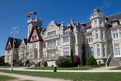 Palacio de la Magdalena. Sede UIMP de los cursos de verano (Fuente. Turismo de Cantabria)