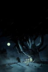 El camino del Diablo (emy mariani) Tags: illustration heavymetal dibujo sauron