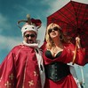 Queen and queen (Alex Bamford) Tags: gay 120 film portraits brighton pride parade madeiradrive minoltaautocord 2013 alexbamford fujicolourpro160s wwwalexbamfordcom alexbamfordcom