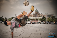 Football and The Prime Minister's Office (van_ambruce) Tags: putrajayamosque klabit vanligutomphotography