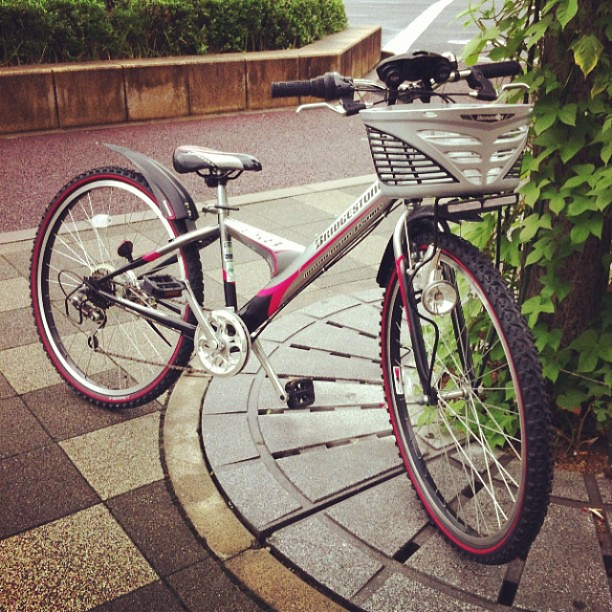 ... 供用自転車 by 紫野eirin, on Flickr