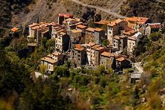 Pierlas (papy06200) Tags: alpes landscapes paysages alpesmaritimes tiltshift oldvillage ruby3 frenchvillages vieuxvillage villagedesalpesmaritimes slicesoftime pierlas alpesfrenchvillage
