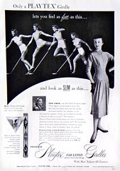 61 1952 (Undie-clared) Tags: girdle playtex fablined