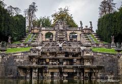 Fountain: Saint-Cloud's park (Mr Ugo Miller) Tags: paris france art fountain girl architecture canon landscape 50mm f14 suburb usm paysage fontaine fille banlieue 6d canon6d parcsaintcloud