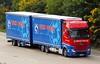 Mercedes Actros MP4 Z WP392 - Weck & Poller (gylesnikki) Tags: blue red truck kent artic m20 rigid drawbar weckandpoller