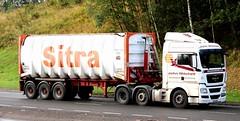 MAN - JOHN MITCHELL Grangemouth (scotrailm 63A) Tags: trucks tankers lorries