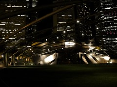 . (Kate Hedin) Tags: park chicago building architecture frank hall illinois concert downtown jay band shell gehry millennium architect pavilion pritzker