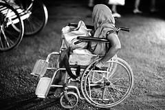The NOT SO FUN wheels (N A Y E E M) Tags: street female night candid wheelchair beggar disabled fullframe bangladesh gec chittagong