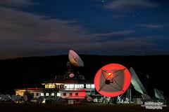 Communication breakdown (Boris Georgiev) Tags: night canon bulgaria 1750 tamron satellites 600d