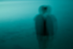 in one another (Vasilis Amir) Tags: longexposure boy sea seascape abstract man motion blur silhouette sunrise moving experimental bokeh ghost move transparency transparent icm  intentionalcameramovement mygearandme mygearandmepremium vasilisamir
