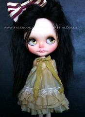 Now you can see her ooak dress I made just for her :) <3