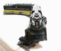 PRR5544_mkii_22 (SavaTheAggie) Tags: railroad train lego pennsylvania engine trains steam creation duplex locomotive streamlined snot own rebuild t1 reconstruction streamline prr streamliner moc 4444 my