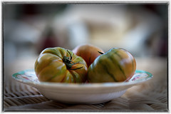 Tomatoes Of A Certain Kind (christilou1) Tags: fruit zeiss colours sony tomatoes nik 18 vignette a7r lr5 fe55