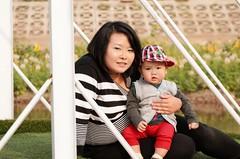 DSC_7585 (taducanh) Tags: family baby flower garden children kid hoa h hty vn ty trem vnhoa d7000 18105vr