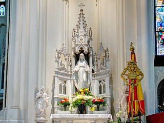 Cathedral Basilica of the Immaculate Conception - Virgin Mary Altar
