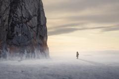 Olkhon Island, Lake Baikal, Russia (inhiu) Tags: mountain snow lakebaikal olkhonisland ruassia nikond800 inhiu