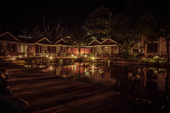 Paya Beach Resort at night