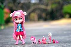 The Pink Parade!....*Raspberry Pie**