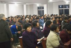 Ochtenddienst%201 (Frans Schellekens) Tags: china church countryside cross religion churches service mis kerk gebouw anhui kruis platteland believers religie kerken kerkdienst gelovigen