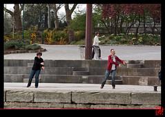 Qi gong : la gymnastique  la chinoise (mamnic47 - Over 5 millions views.Thks!) Tags: paris paris7eme qigong laseine lesgens quaisaintbernard img1247 30032014 gymnastiquelachinoise