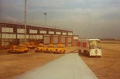 HEATHROW 1977 (by LLH) (streamer020nl) Tags: uk greatbritain summer england london jeep heathrow july scan gb petrol 1977 landrover esso tanker engeland londen foden kerosine llh airportlondon louiselh scanlouiselh