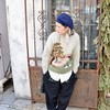 vjap_08 (Homair) Tags: vintage sweater fuzzy fluffy mohair
