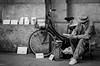The Painter (Rebel Yell 82nd) Tags: street italy milan 50mm nikon italia milano d7000