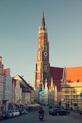 Martinskirche (Elmar Bajora Photography) Tags: church germany bayern deutschland europa europe gothic altstadt oldtown niederbayern landshut religiousbuildings