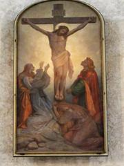 1108_Saxony 604 (Andras, Fulop) Tags: germany painting deutschland dresden artwork saxony kreuzkirche jesusonthecross holycorsschurch