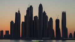 Silhouette (outdoorphotodream.com) Tags: ocean sea marina sunrise landscape long exposure dubai ngc uae palm emirates jumeira skycraper elitegalleryaoi noneralui