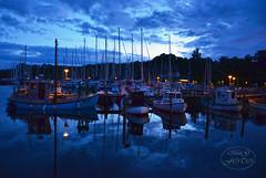 Silence of the night (MaiGoede) Tags: night landscape denmark nikon meer sailing harbour silence hafen dnemark nightpicture summernight ammeer nachtruhe hafenbilder silenceofthenight nikond7000 cmatthiasihriggoede