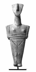Idole cycladique - Type de Spedos 2  - Cycladique ancien II - 2700-2300 (M. Agrippa) Tags: cyclades idole