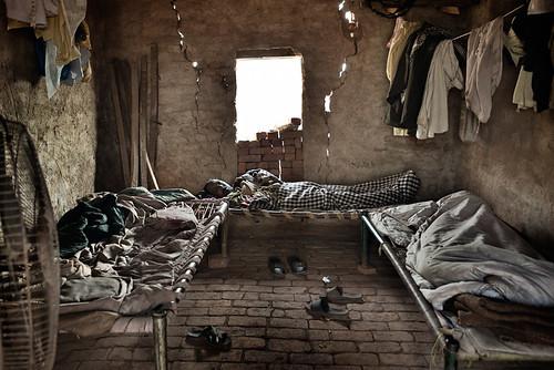 Dormitorio dei lavoratori delle fabbriche di mattoni