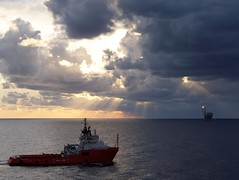 Bouri Field - Asso Ventiquattro (TomasLudwik) Tags: field mediterranean offshore maritime libya asso dp3 bouri ventiquattro