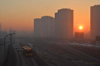 Katowice - the rising sun