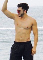 IMG_1682 (danimaniacs) Tags: shirtless man hot sexy guy armpit beard mexico hunk puertovallarta trunks swimsuit stud scruff mansolo